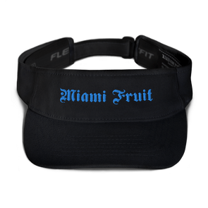 Miami Fruit Tattoo Font Visor