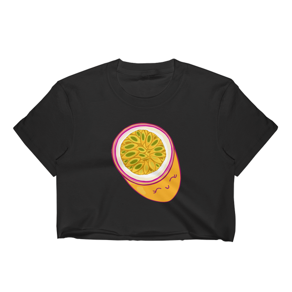 Passionate about Fruit Crop Top