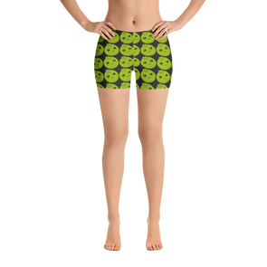 Black Sapote Low Waist Shorts