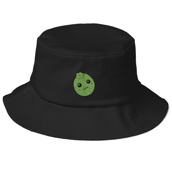 Black Sapote Old School Bucket Hat