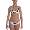Durian Cheetah/Fruit Cow Print Reverseable Bikini