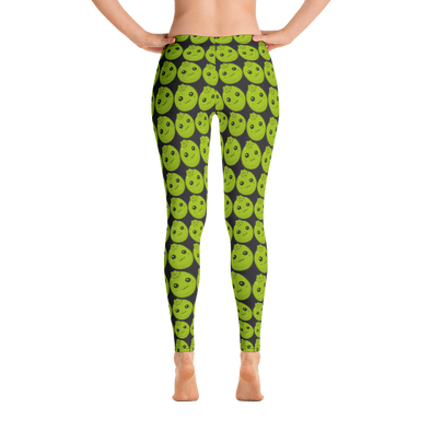 Black Sapote Checker Leggings