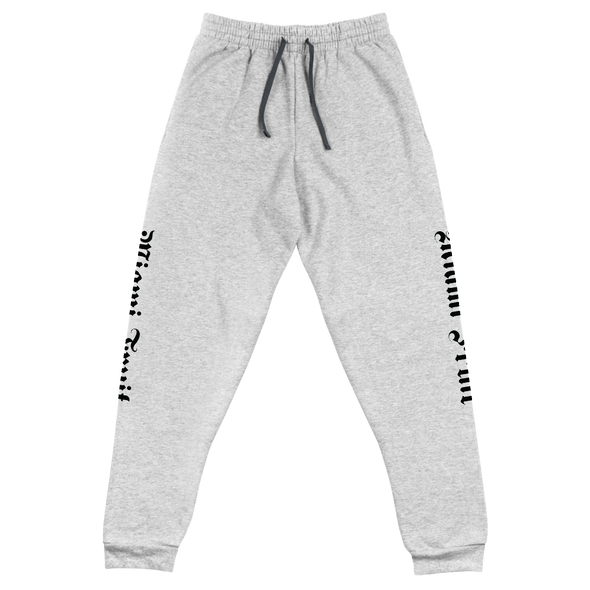 Miami Fruit Tattoo Font Unisex Joggers