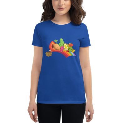 Miami Fruit Box Short Sleeve T-shirt