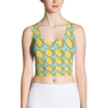Blue Durian Crop Top