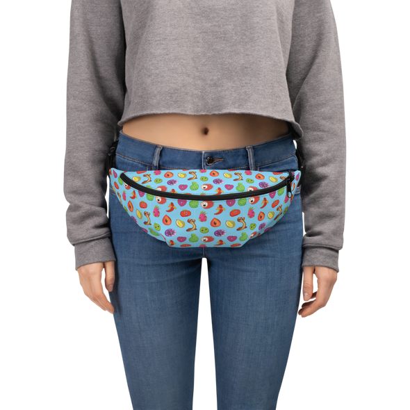MiamiFruit Salad Fanny Pack