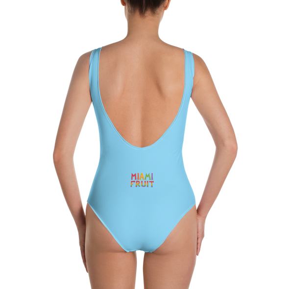Monstera One-Piece Swimsuit