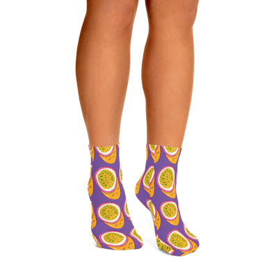 Passionfruit Ankle Socks