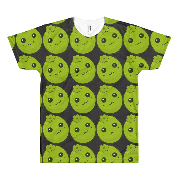 Black Sapote all Over Short sleeve t-shirt