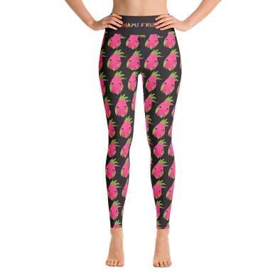 Dragonfruit Yoga Leggings