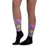 Passionfruit Flower Socks