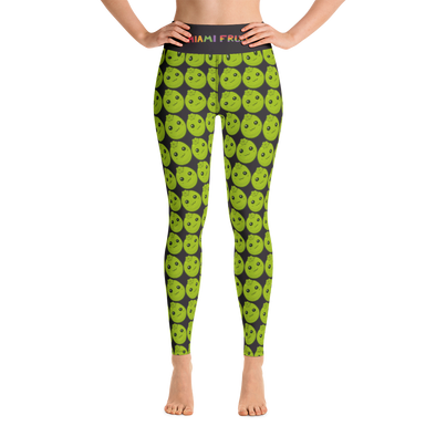 Black Sapote High Waist Yoga Leggings
