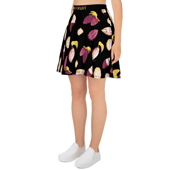 Cacao Repeat Skater Skirt