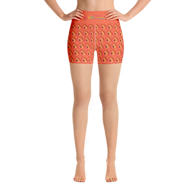 Mamey High Waist Yoga Shorts