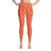 Mamey Print #2 High Waist Yoga Leggings