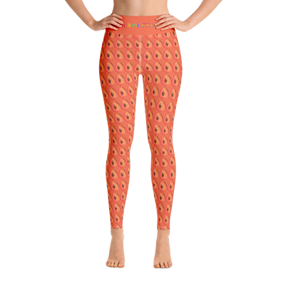 Mamey High Waist Yoga Leggings