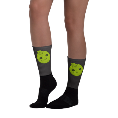 Black Sapote Athletic Socks