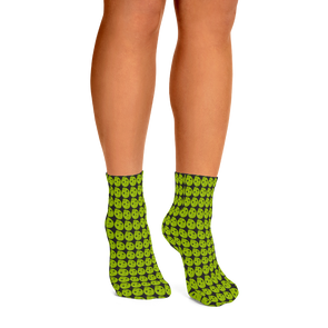 Black Sapote Ankle Socks