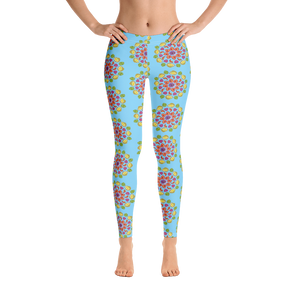 MiamiFruit Mandala Leggings