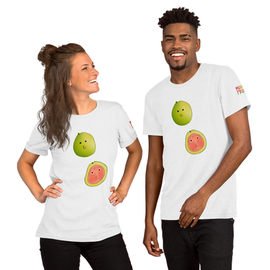 Guava Double Short-Sleeve Unisex T-Shirt *Multiple Colors*