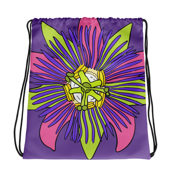 Flower Power Drawstring bag