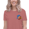 Eco Friendly Dolphin Banana Crop Tee