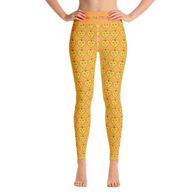 Eggfruit High Waist Yoga Leggings