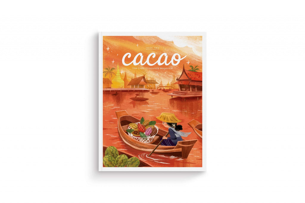 Two issues of Cacao Magazine available online for free - Garcia Nevett Chocolatier de Miami