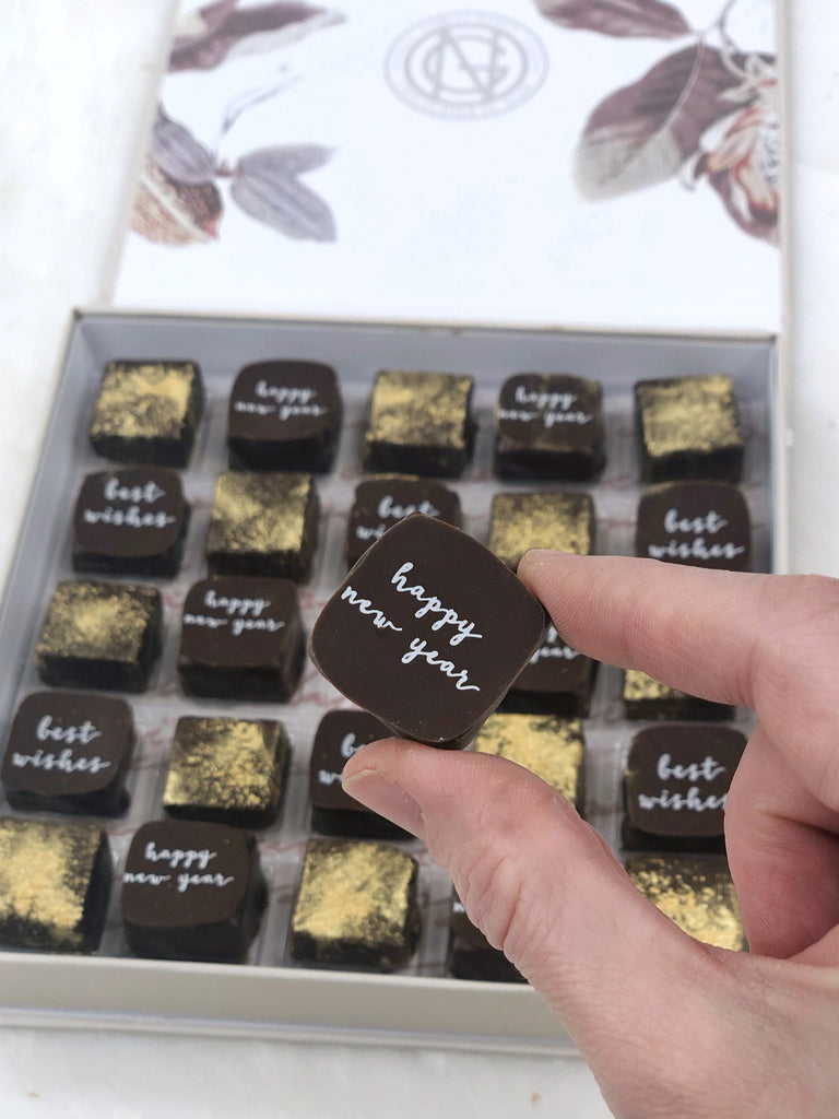 Chocolates for New Year's Eve | Garcia Nevett Chocolatier de Miami