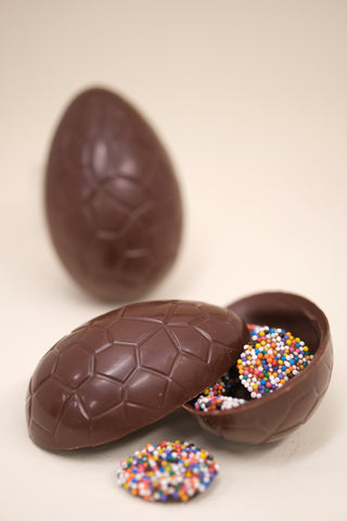 Easter chocolate egg non pareils