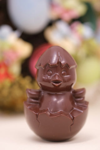 Easter dark chocolate chick