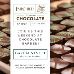 fairchild tropical garden chocolate festival garcia nevett