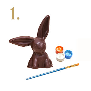 Paint your chocolate bunny