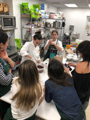 chocolate class in miami at Garcia Nevett