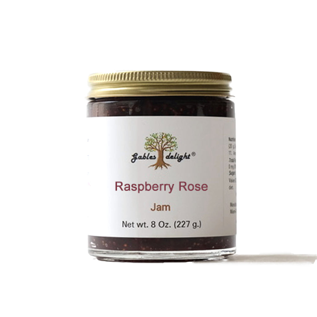 Gables Delight Raspberry Rose Jam