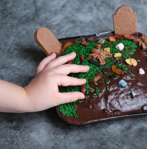 Graveyard Chocolate Cake Kit for Kids