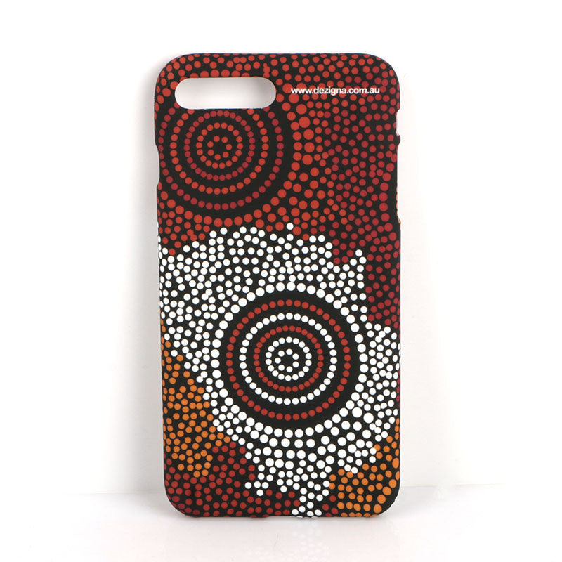 Mobile Phone Case 'Together We Grow' Design - Elaine Chambers - Dezigna