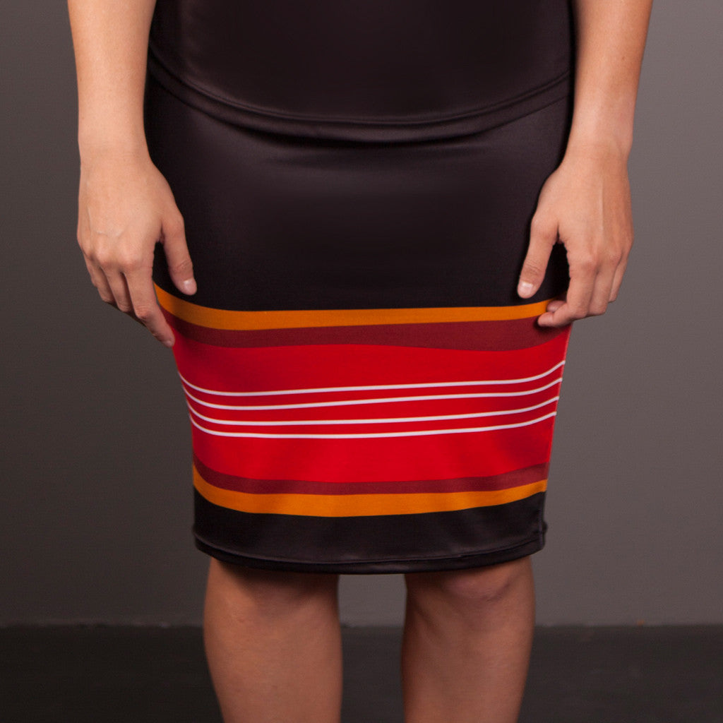 Skirt - Elaine Chambers Range 'By The Water' - Dezigna