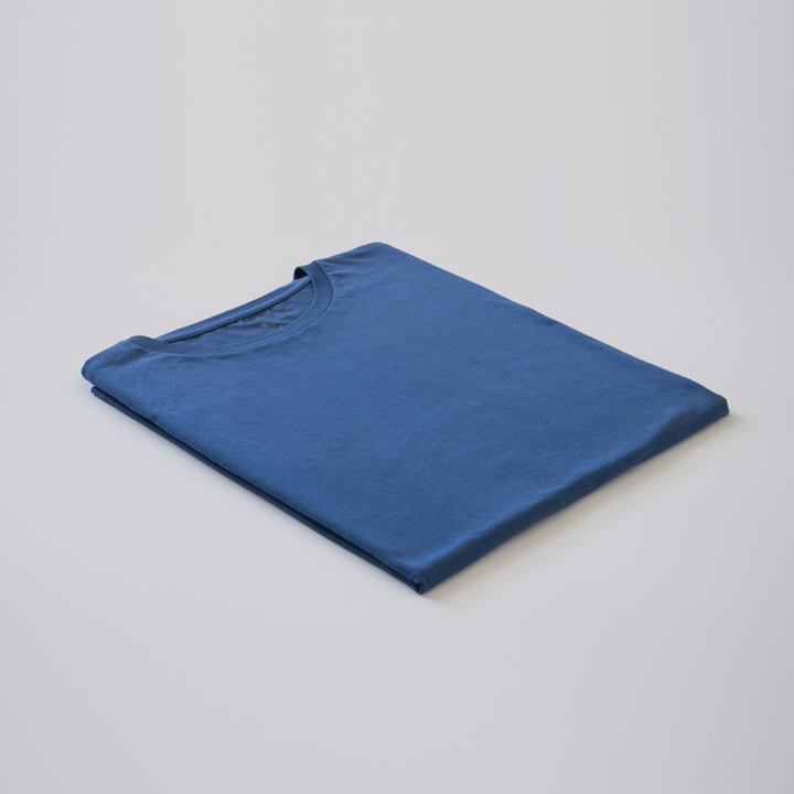 Faded Denim Organic Tee