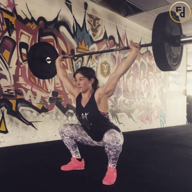 Interview with Wellington based competitive CrossFitter Emma Wright
