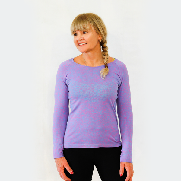 Lavender Cool Me Down Long Sleeve