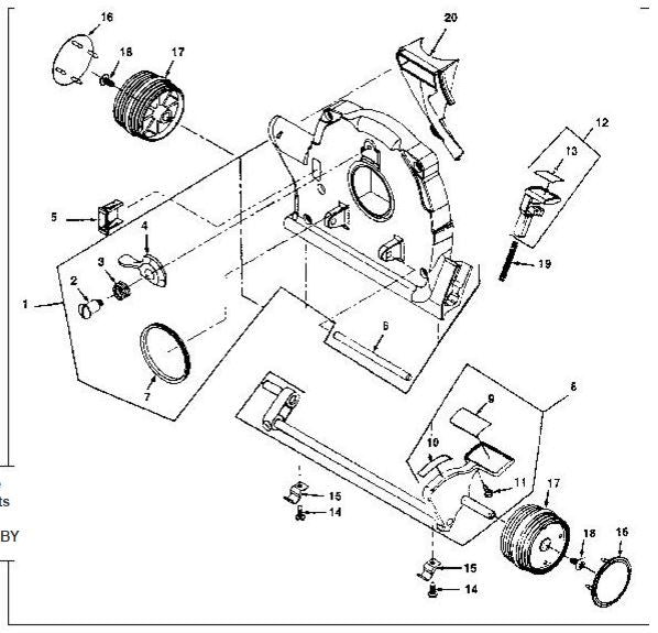 Kirby Vacuum Parts Schematic