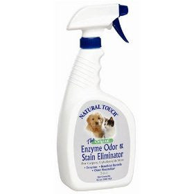 Natural Touch Enzyme Odor & Stain Remover 32 oz.  Manufacturer Part No.: 32NTP - TheVacuumCenter.com