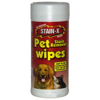 Stain-X Pet Stain Remover Wipes - TheVacuumCenter.com