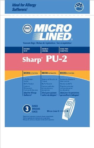 Replacement Sharp Upright PU-2 3 Pack
