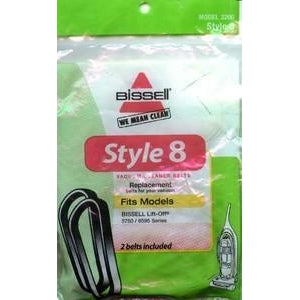 Genuine Bissell Style 8 Belt, 2 Pack