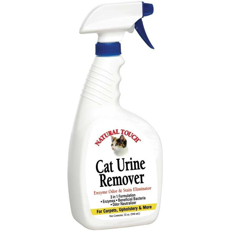 Natural Touch Cat Urine Remover 32 oz.   Manufacturer Part No.: P32CUR - TheVacuumCenter.com