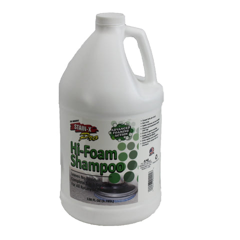 One Gallon Stain-X Foaming Shampoo   Manufacturer  90104-04S
