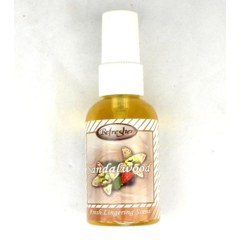 Refresher Liquid Spray Fragrance - Sandalwood