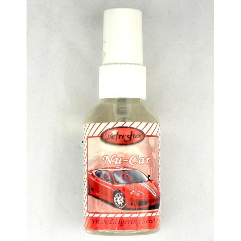 Refresher Liquid Spray Fragrance - New Car - TheVacuumCenter.com